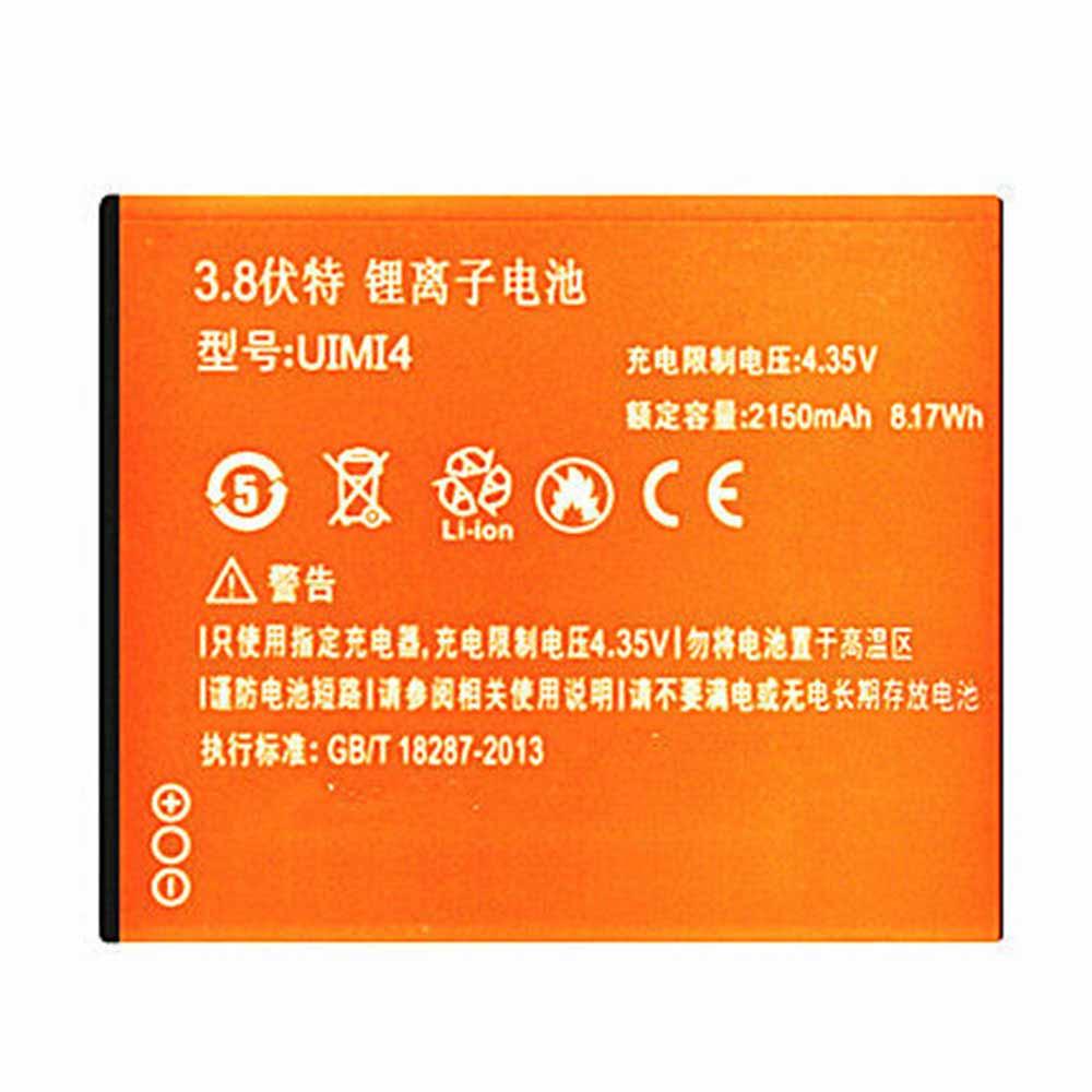 UIMI4 batterij