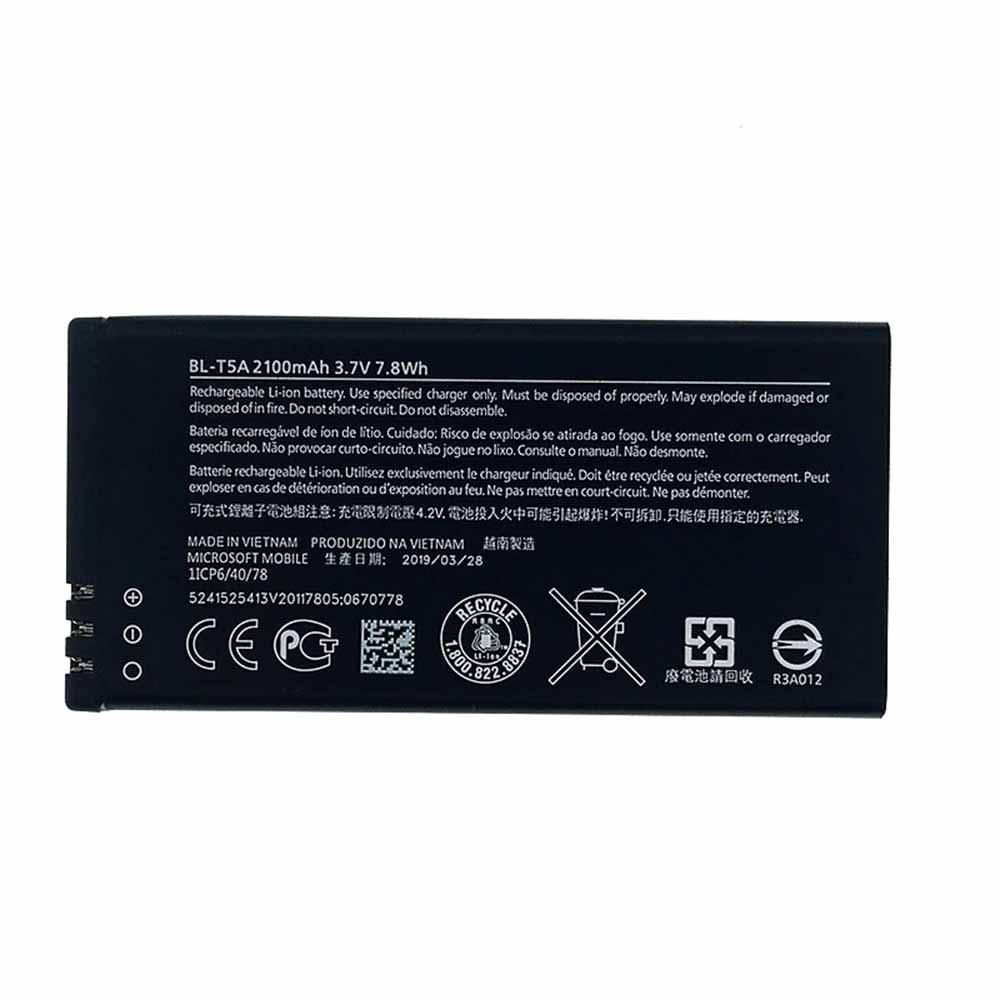 BL-T5A 2100mAh/7.8WH 3.7V 4.2V laptop accu