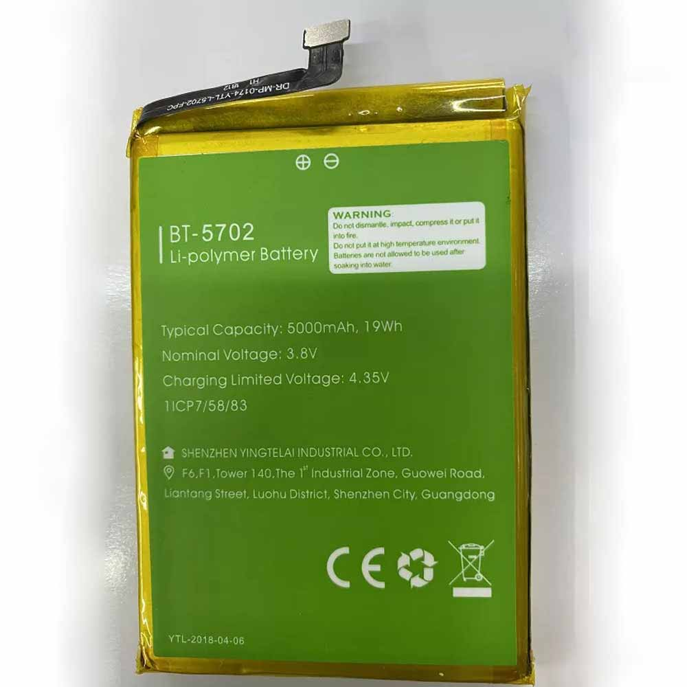 BT-5702 batterij
