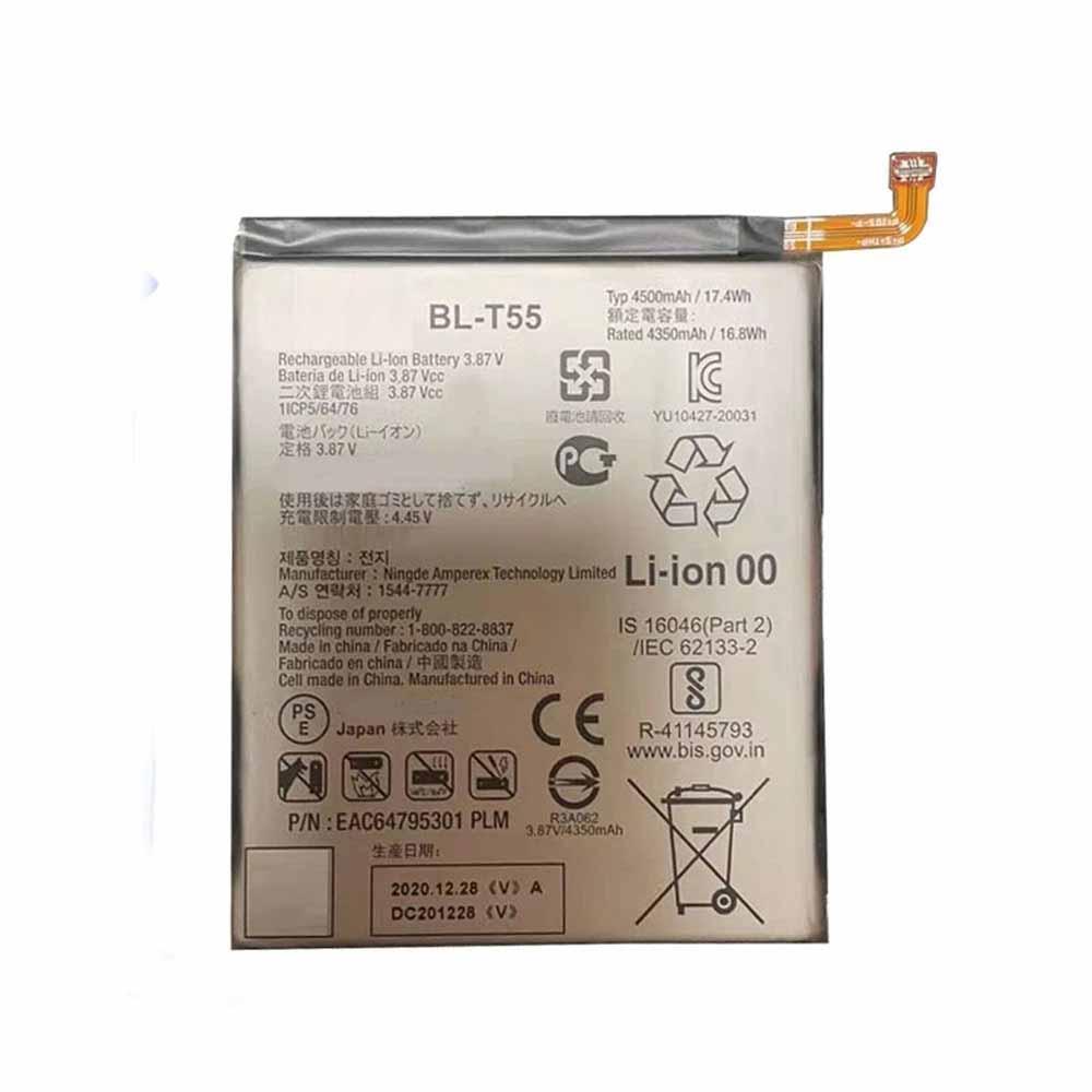 BL-T55 4350mAh/16.8WH 3.87V/4.45V laptop accu