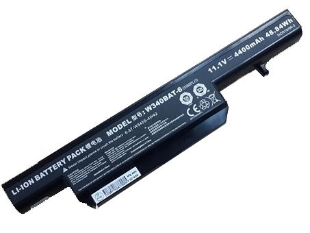 W340BAT-6 laptop accu's